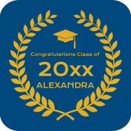 Graduations Drink Coaster - Graduate Honor