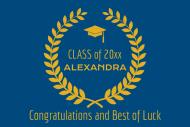 Graduations Mini Wine Label - Graduate Honor