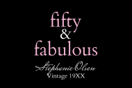 Birthday Mini Wine Label - Fifty & Fabulous