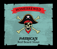 Beer Label - Pirate Brew