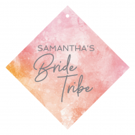 Wedding Wine Hang Tag - Bride Tribe
