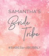 Wedding Champagne Label - Bride Tribe