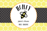 Food Label - Honey Bee