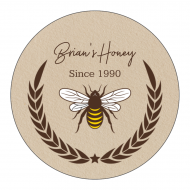 Sticker - Honey Gold
