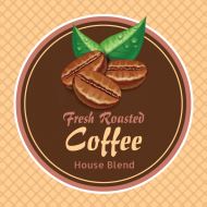 Food Label - Coffee Bean