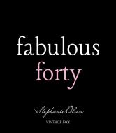 Birthday Wine Label - Fabulous Forty