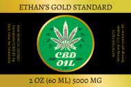 Dropper Bottle Label - CBD Oil