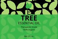 Dropper Bottle Label - Tea Tree Oil