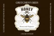 Dropper Bottle Label - Honey Oil