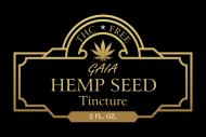 Dropper Bottle Label - Hemp Seed Tincture