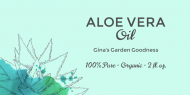 Dropper Bottle Label - Aloe Vera OIl