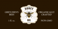 Dropper Bottle Label - Honey Oil
