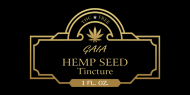 Dropper Bottle Label - Hemp Seed Tincture