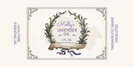 Dropper Bottle Label - Essential Lavender