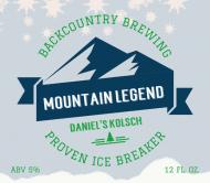 Beer Label - Mountain Legend