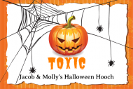 Holiday Mini Liquor Label - Halloween Party