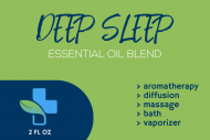 Dropper Bottle Label - Deep Sleep Diffuser Oil