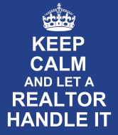 Expressions Wine Label - Keep Calm Realtor