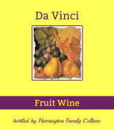 Expressions Wine Label - Painted Fruit