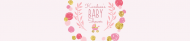 Baby Water Bottle Label - Playful Scribbles Pink