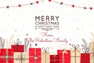 Holiday Growler Label - Christmas Presents