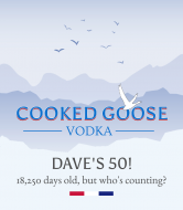 Birthday Liquor Label - Goose Vodka