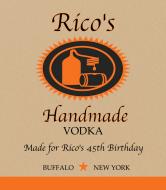 Birthday Liquor Label - Handcrafted Vodka