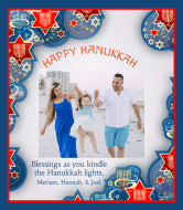 Holiday Wine Label - Hanukkah Photo