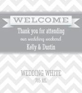 Wedding Wine Label - Wedding Weekend