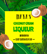 Liquor Label - Homemade Coquito