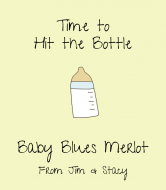 Baby Wine Label - Hit the Bottle