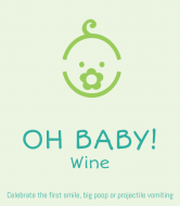 Baby Wine Label - Oh Baby