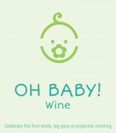 Baby Wine Label - Oh Baby