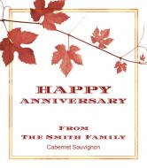 Expressions Wine Label - Scarlet Vine