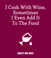 Expressions Wine Label - Cooking With Wine