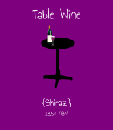 Expressions Wine Label - Table Wine
