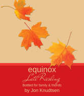 Expressions Wine Label - Equinox