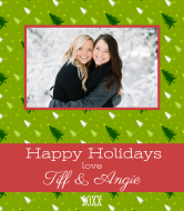 Holiday Wine Label - Holiday Friends