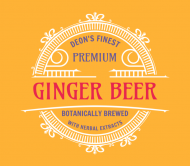 Beer Can Label - Ginger Beer