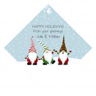 Holiday Wine Hang Tag - Gnome Time