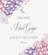 Wine Label - Organic Wine