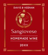 Wine Label - Grand Reserve