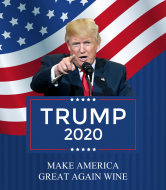 Expressions Wine Label - Trump 2020