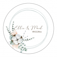 Wedding Label - Natural Cotton Wedding