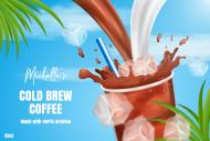 Sticker - Cold Brewed Coffee