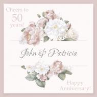 Anniversary Sticker - Floral Anniversary