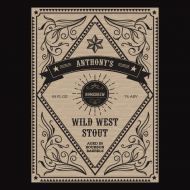 Growler Label - Wild West
