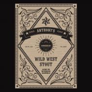 Growler Label - Wild West