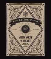 Liquor Label - Wild West