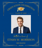 Graduations Wine Label - Graduation Celebration